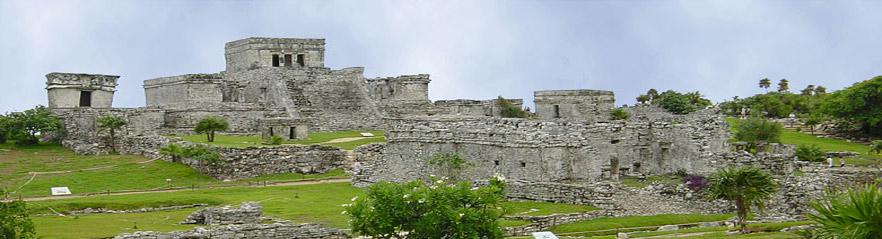 Ruinas Mayas en Mexico, Yucatan y Quintana Roo